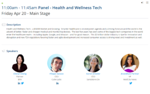 Panel Health and Wellness Tech HardWareCon2018